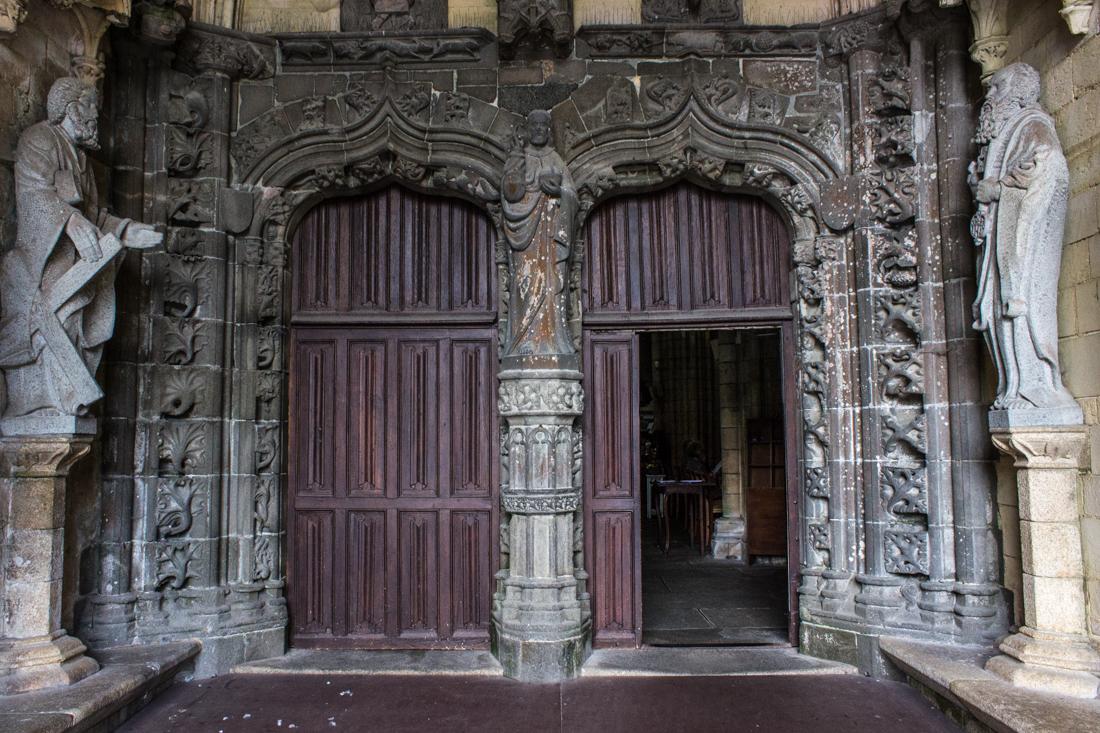 The North Door, the Kreisker Chapel