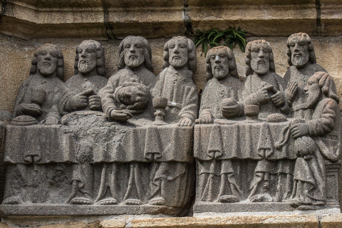 The Last Supper, Calvary of Plougastel Daoulas