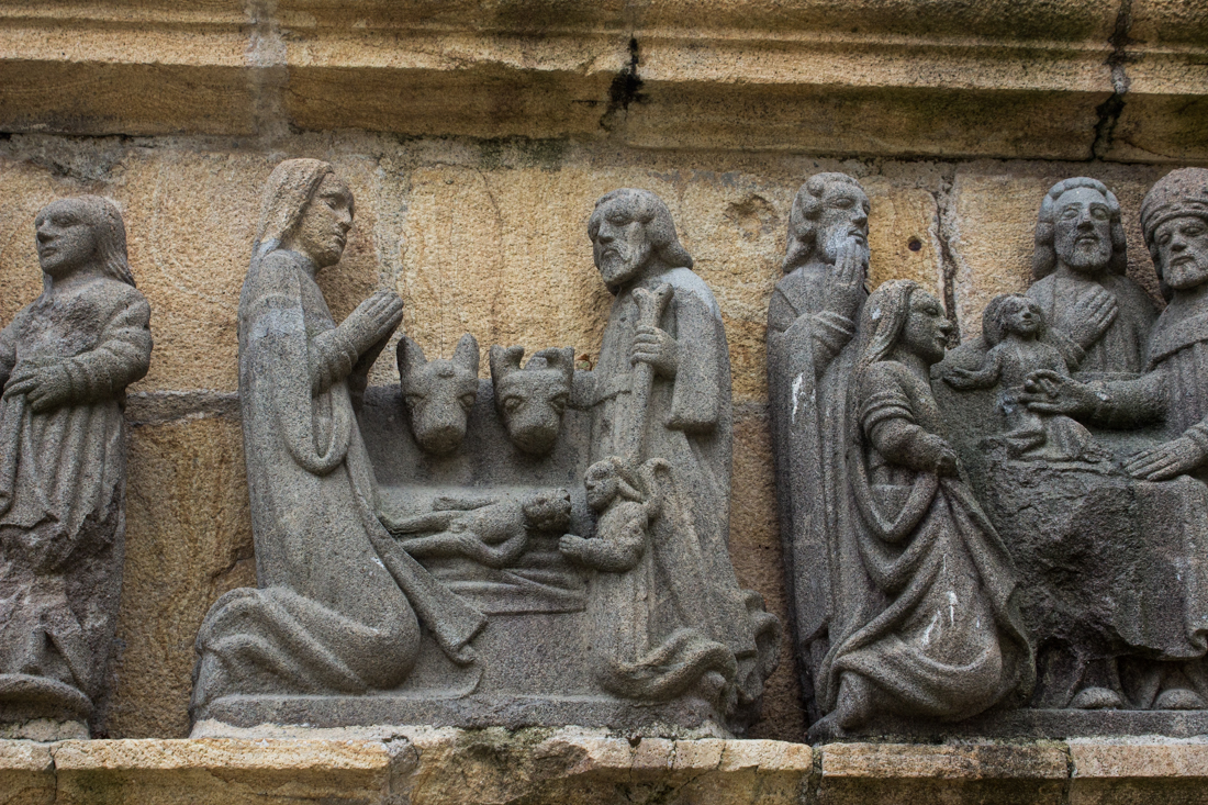 The Nativity on the Calvary at Plougastel-Daoulas, East Side