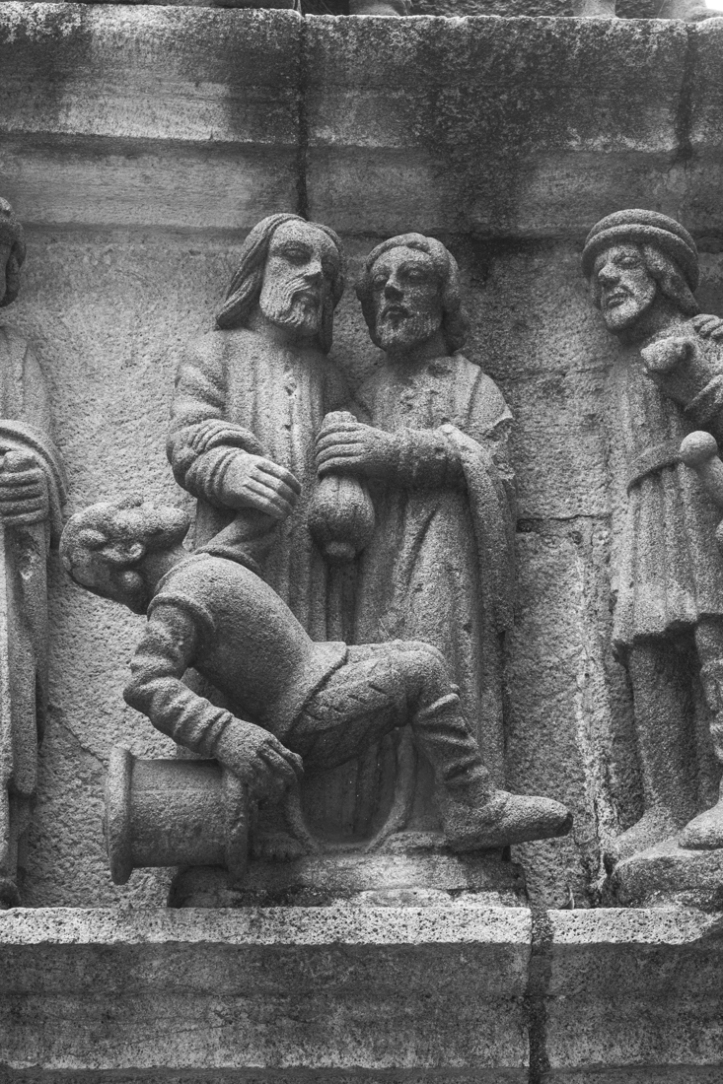 North side of the Calvary, Plougastel Daoulas
