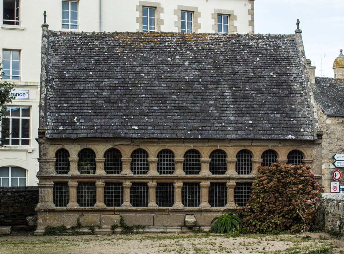 One of the Ossuaries, Notre Dame de Croas Batz, Roscoff