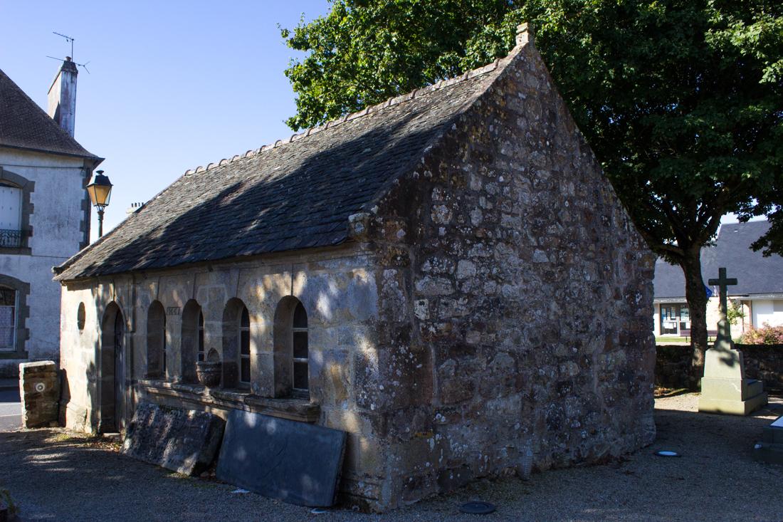The Ossuary of 1665, Argol Parish Church