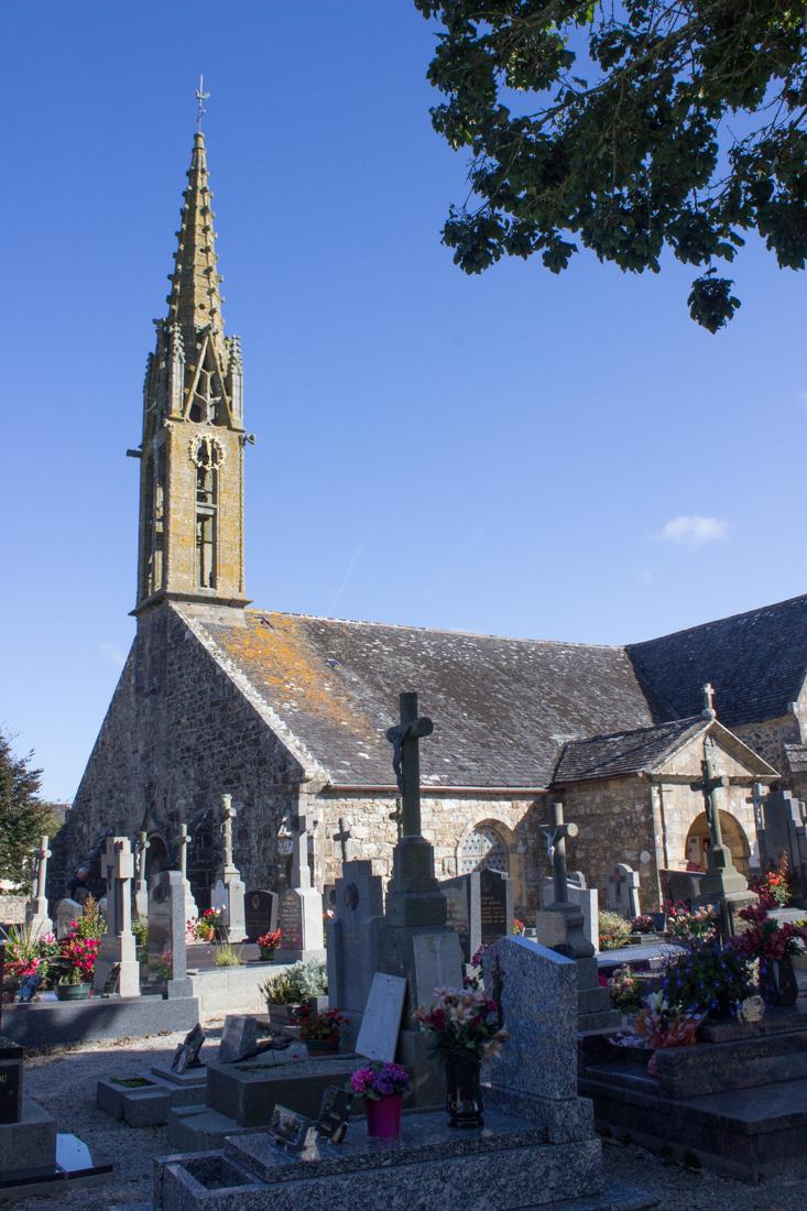 The Church of St Pierre & St Paul at Argol