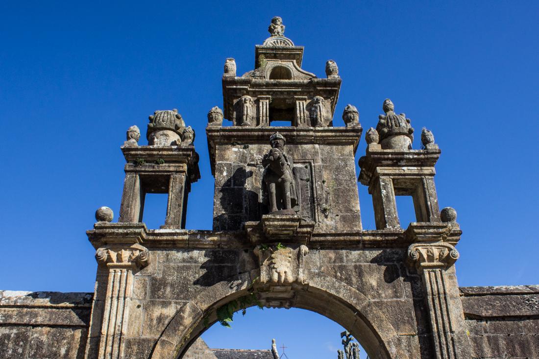 The Triumphal Arch of Argol Parish Church
