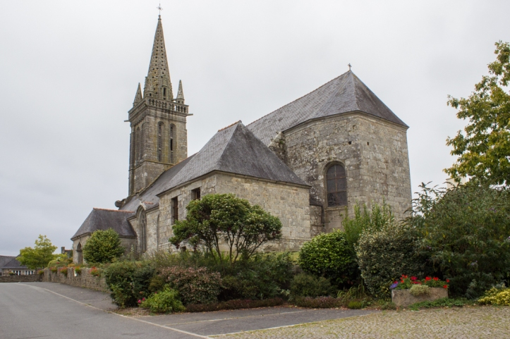 The Church of Poullaouen