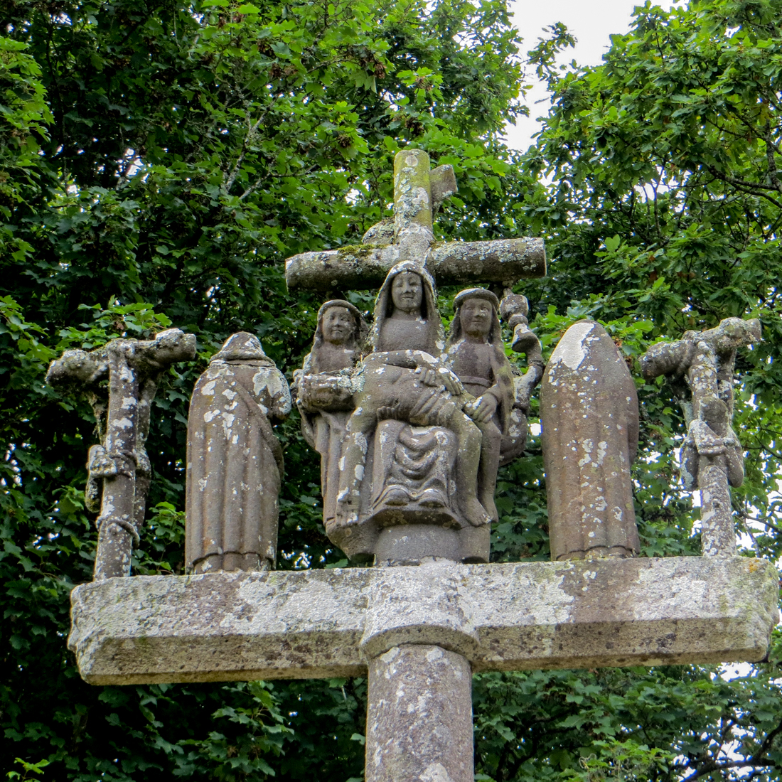 The Calvary of the Church of Bonne Nouvelle, Locmaria Berrien