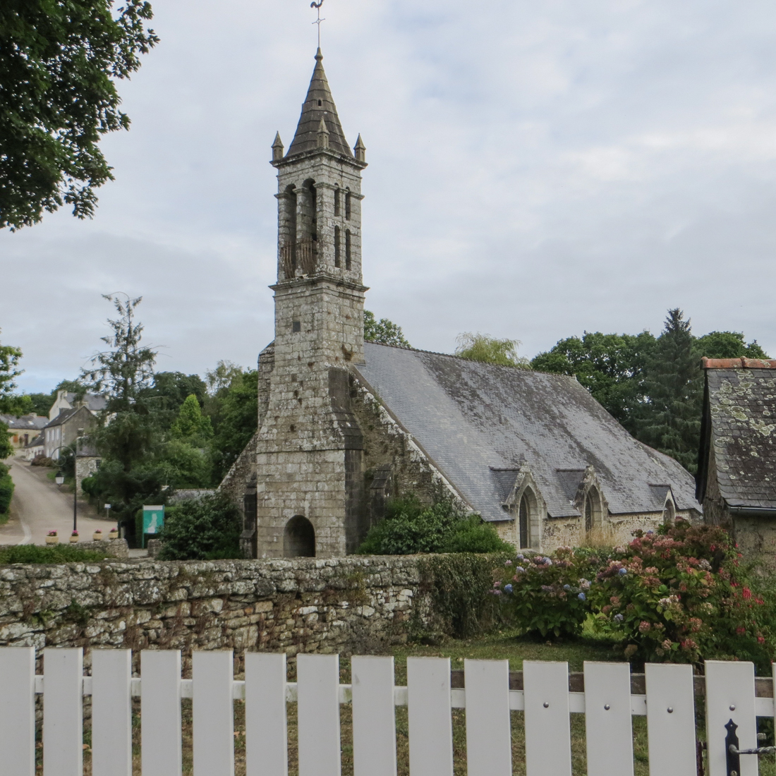 The Church of Bonne Nouvelle at Locmaria Berrien