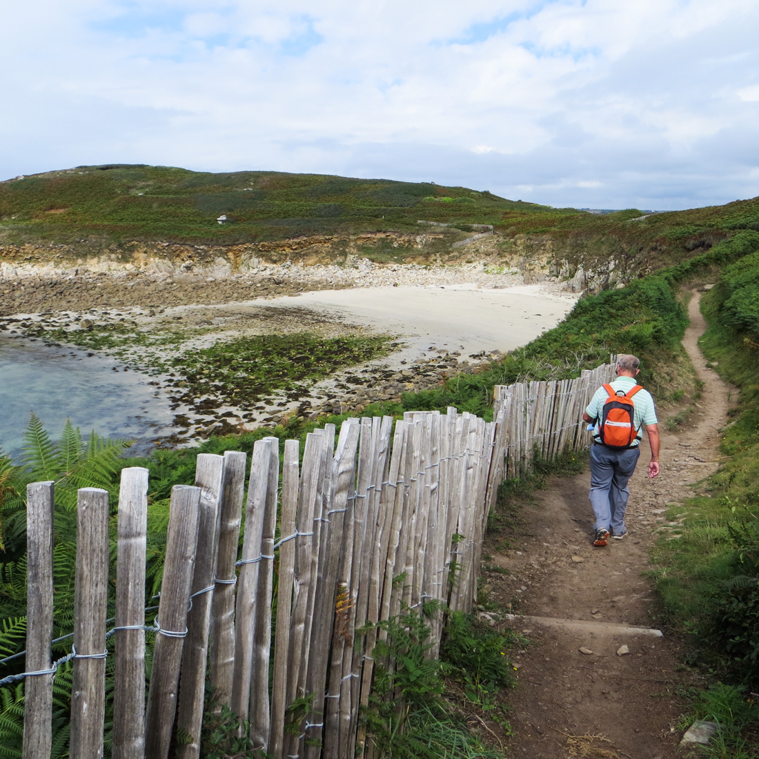 Walking around the Kermorvan Peninsula