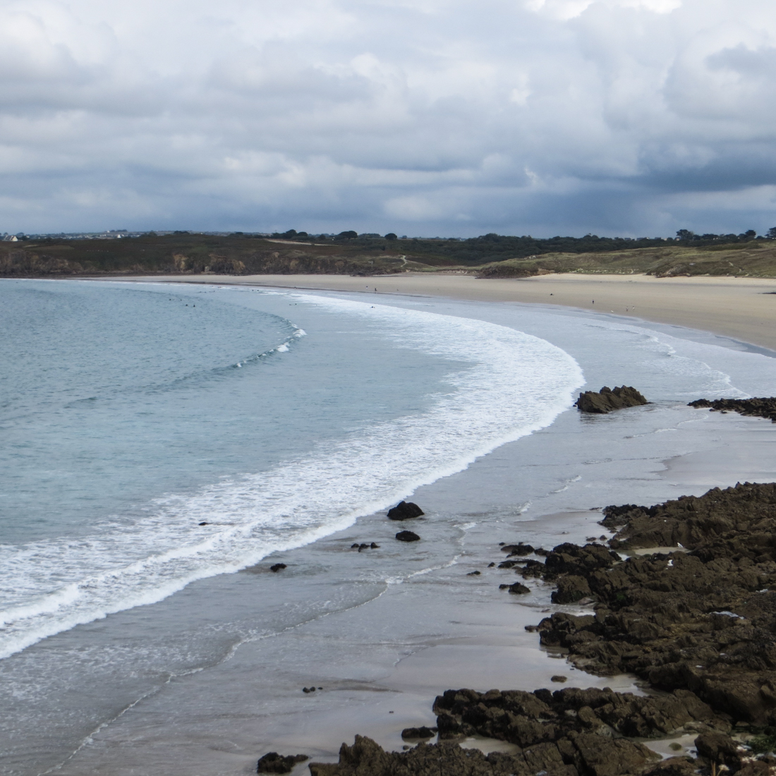 The Beach of white sand, Le Conquet