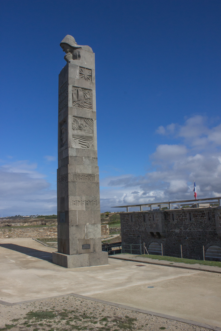 The Cenotaph to sailors lost at sea during war
