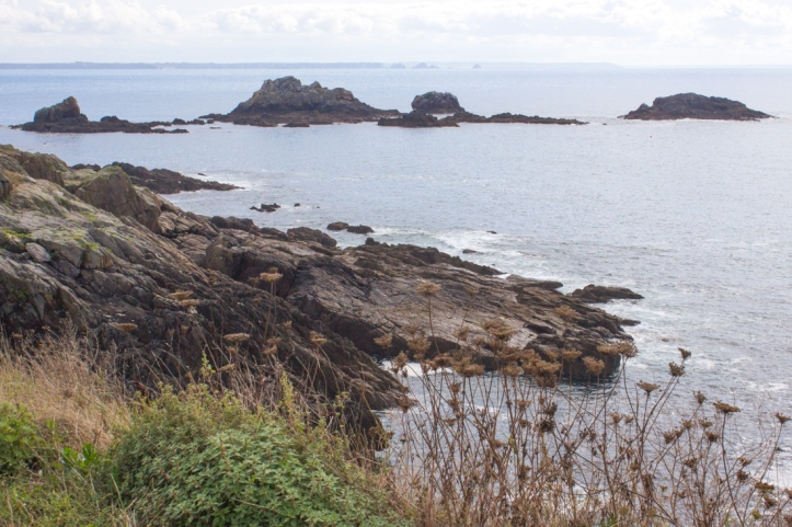 Pointe St Mathieu, looking south towards the Crozon Peninsula