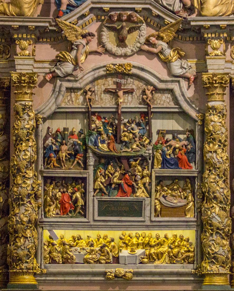 The Altar Piece of the Passion, Notre Dame de Lampaul-Guimiliau