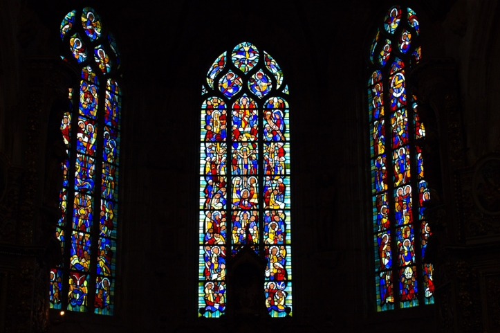 Stained glass, Notre Dame de Lampaul-Guimiliau