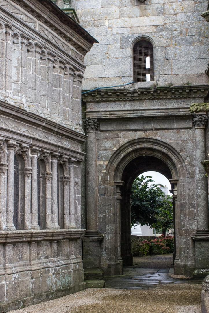 The Chapel & passageway under the Bell Tower, Lampaul-Guimiliau