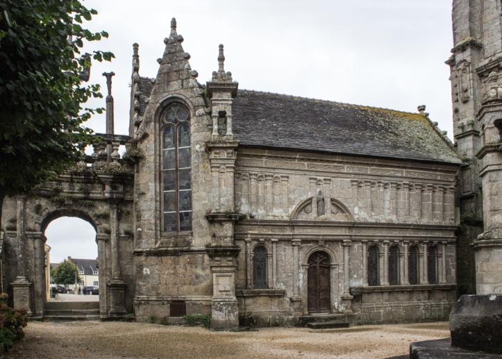 The Ossuary/Chapel at Lampaul-Guimiliau