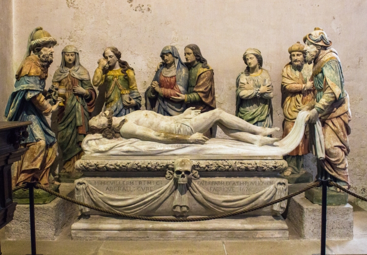 The Burial of Christ, 1676, by Antoine Chavagnac