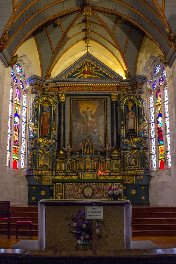 The High Altar, The Church of St Suliau, Sizun