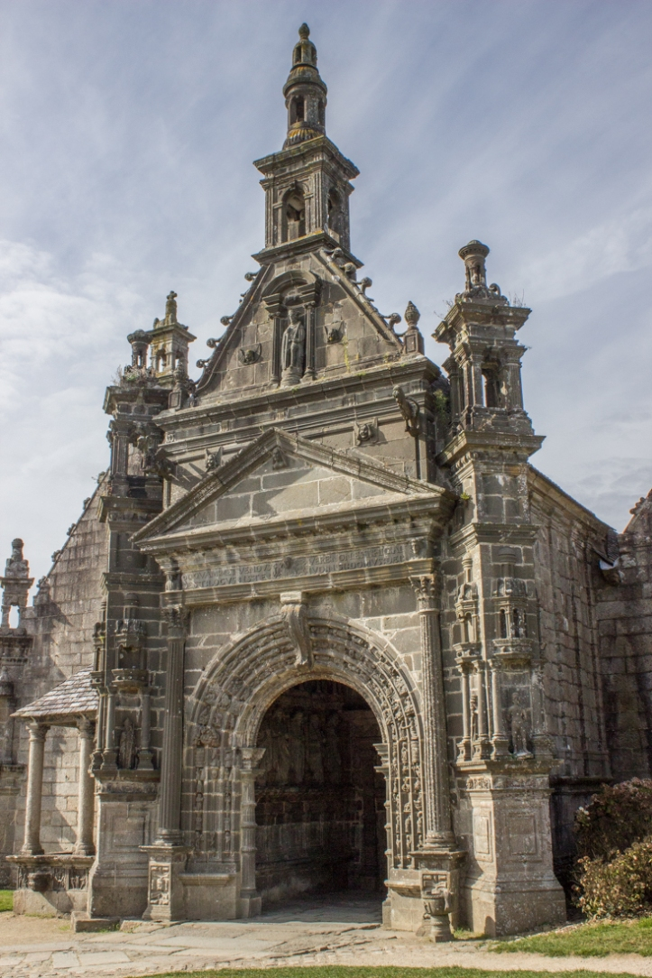 The South Porch of the Church of St Guimiliau