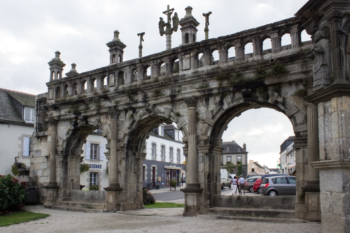 The Triumphal Arch of the Church of St Suliau, Sizun