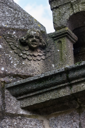 Angels on the Church of St Suliau, Sizun
