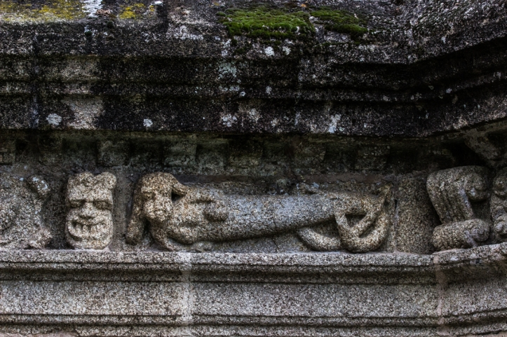 Siren on the Church of St Suliau, Sizun
