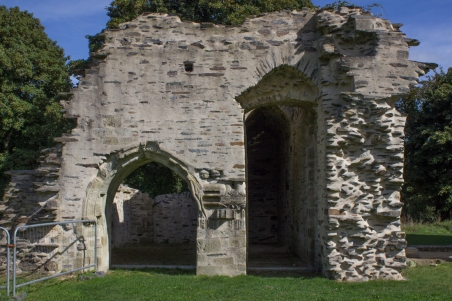 The entry to the Dortoir, Le Relecq
