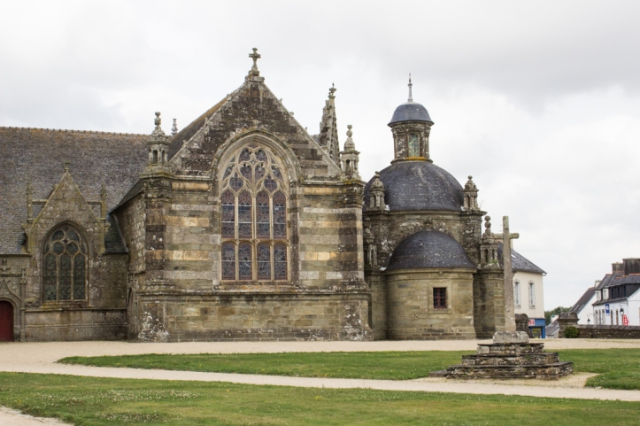The Sacristy of 1680-90, Church of St Germain, Pleyben