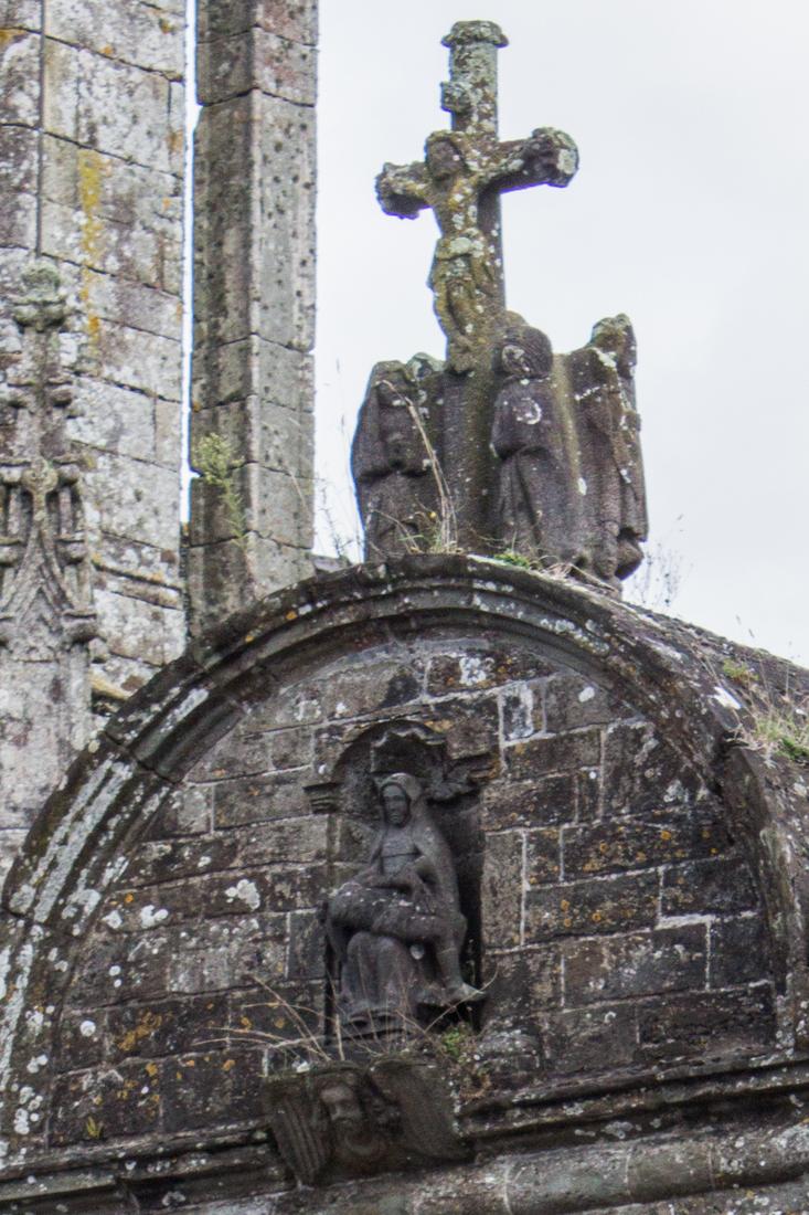 The Triumphal Arch, St Germain de Auxerre, Pleyben