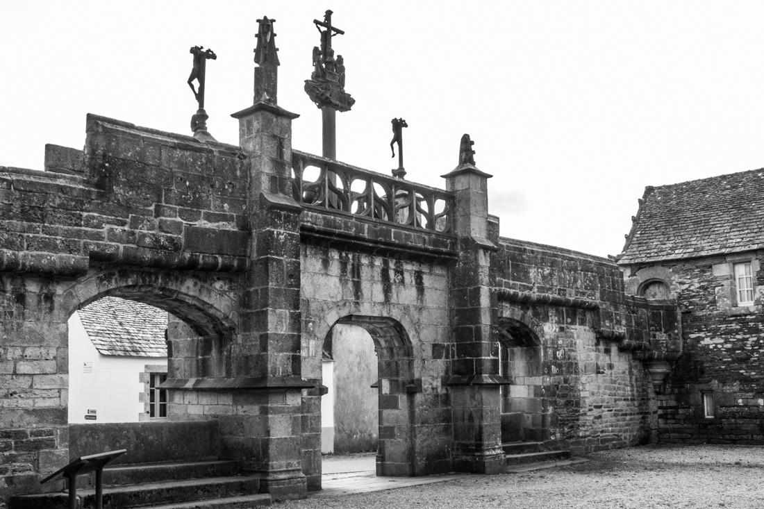The Triumphal Arch of La Martyre Church