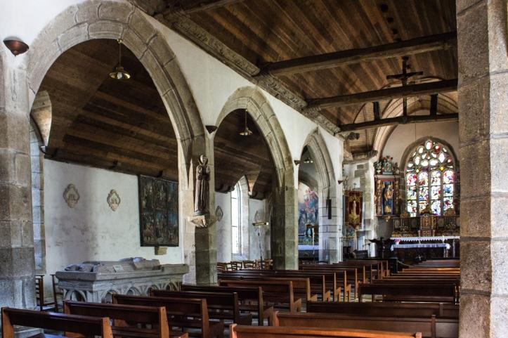 The Church of St Edern, Lannedern