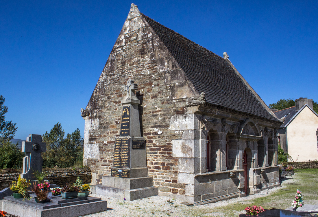 The Ossuary/Chapel of St Anne at Lannedern