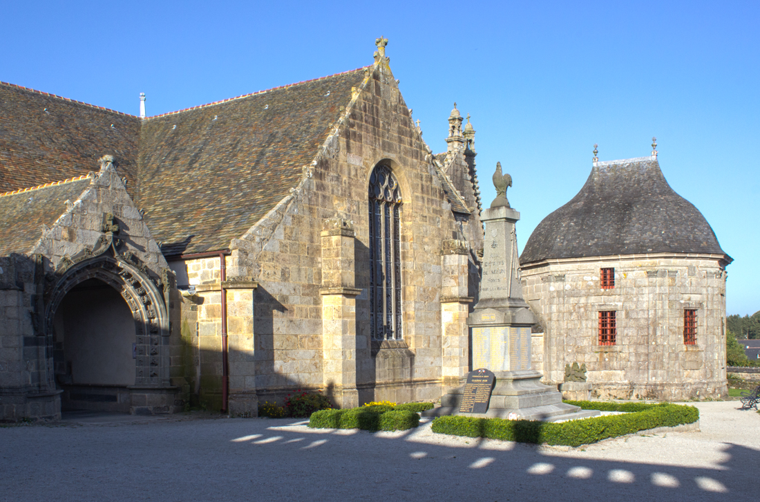 The South Porch & Sacristy, the Church of St Suliau, Sizun