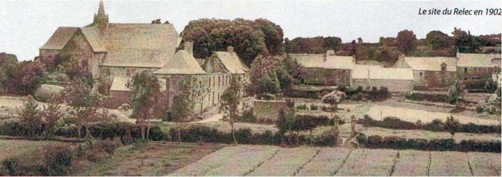 Abbey of Le Relecq, 1902 (www.infobretagne.com/relec-abbaye.htm)