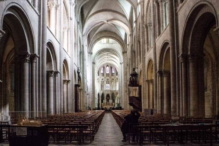 The Abbaye aux Hommes, Caen