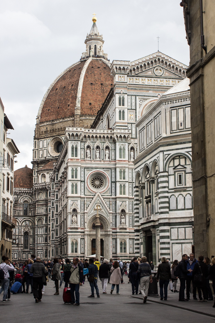 The Cathedral of Santa Maria de Fiore in Florence