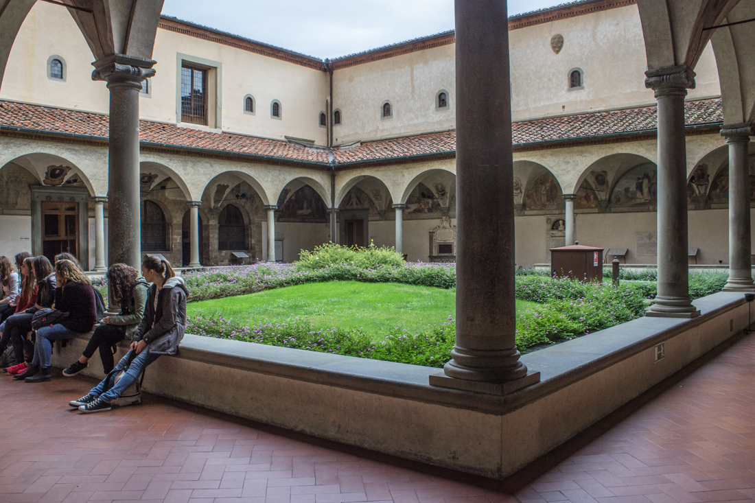 The ground floor Cloister of the Convent of San Marco, Florence (B)