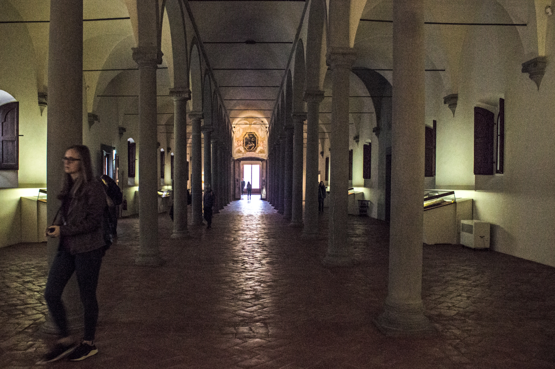 The Library in the Convent of San Marco