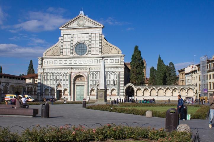The Church of Santa Maria Novella, Florence