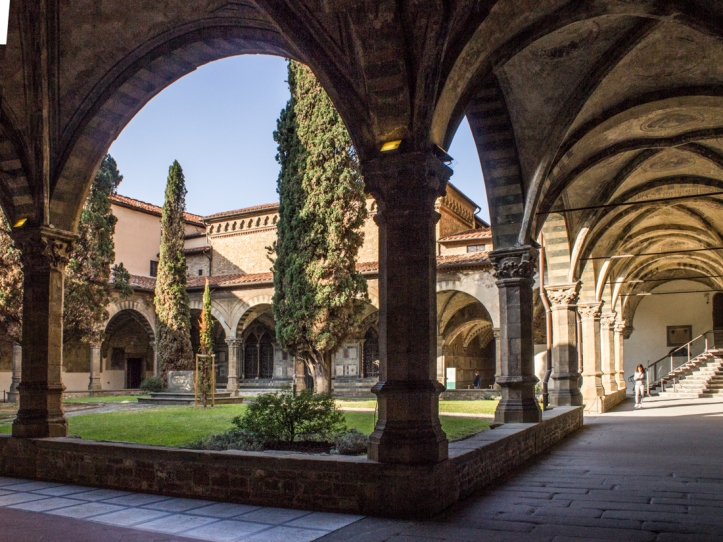 The large cloister, Santa Maria Novella