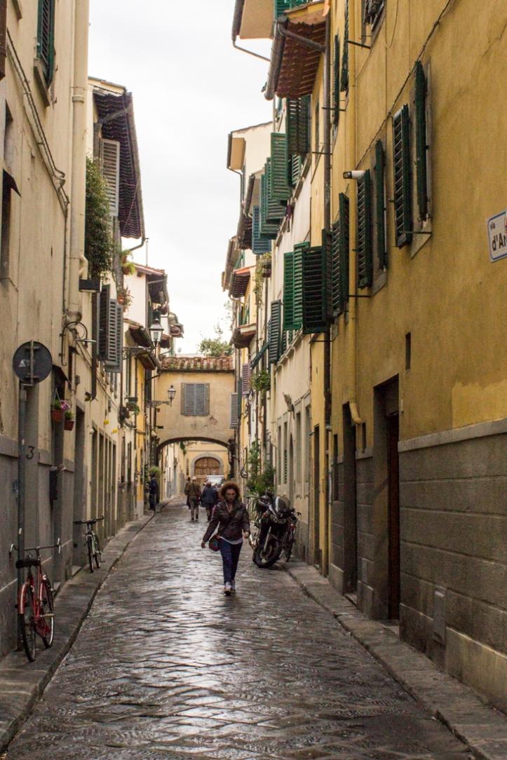 A street in Oltrarno