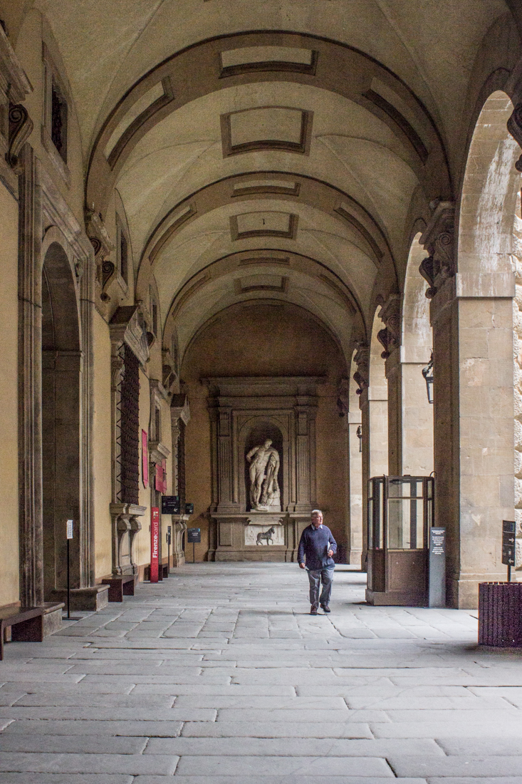 The Pitti Palace, Florence