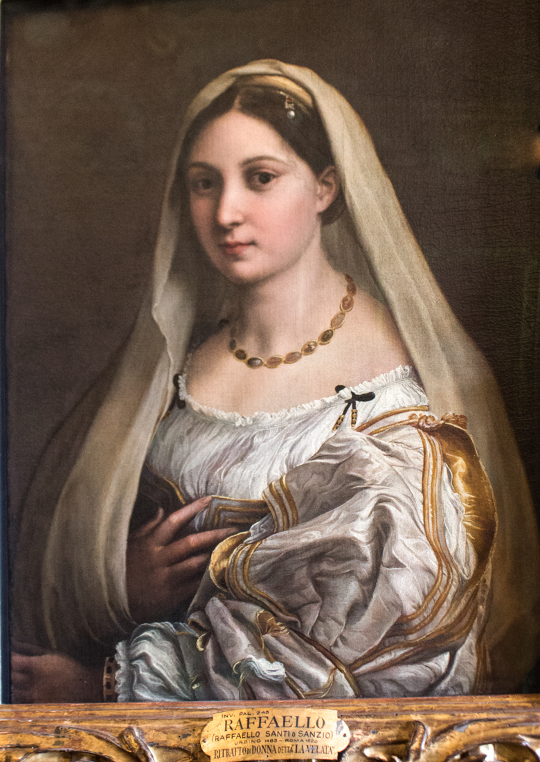 Raphael in the Pitti Palace, Florence