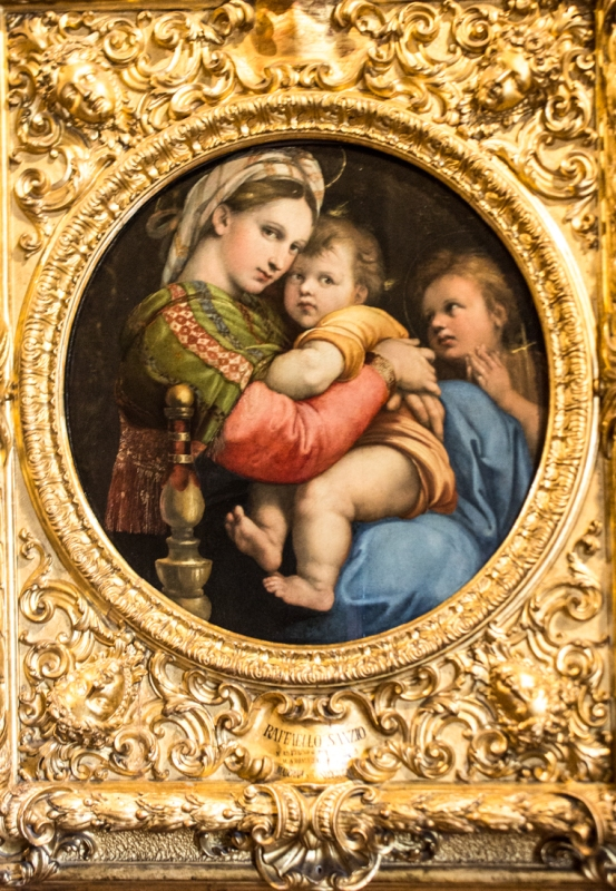 Raphael in The Pitti Palace