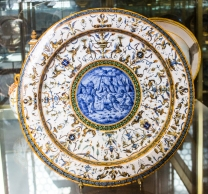 16C pottery from Urbino