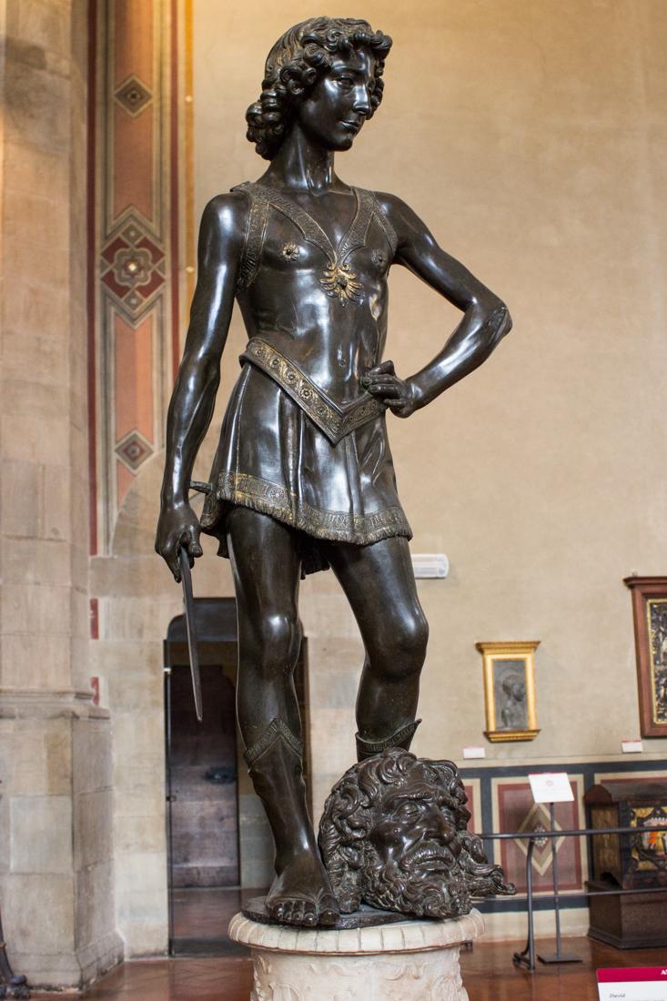 David by Verrocchio, 15C