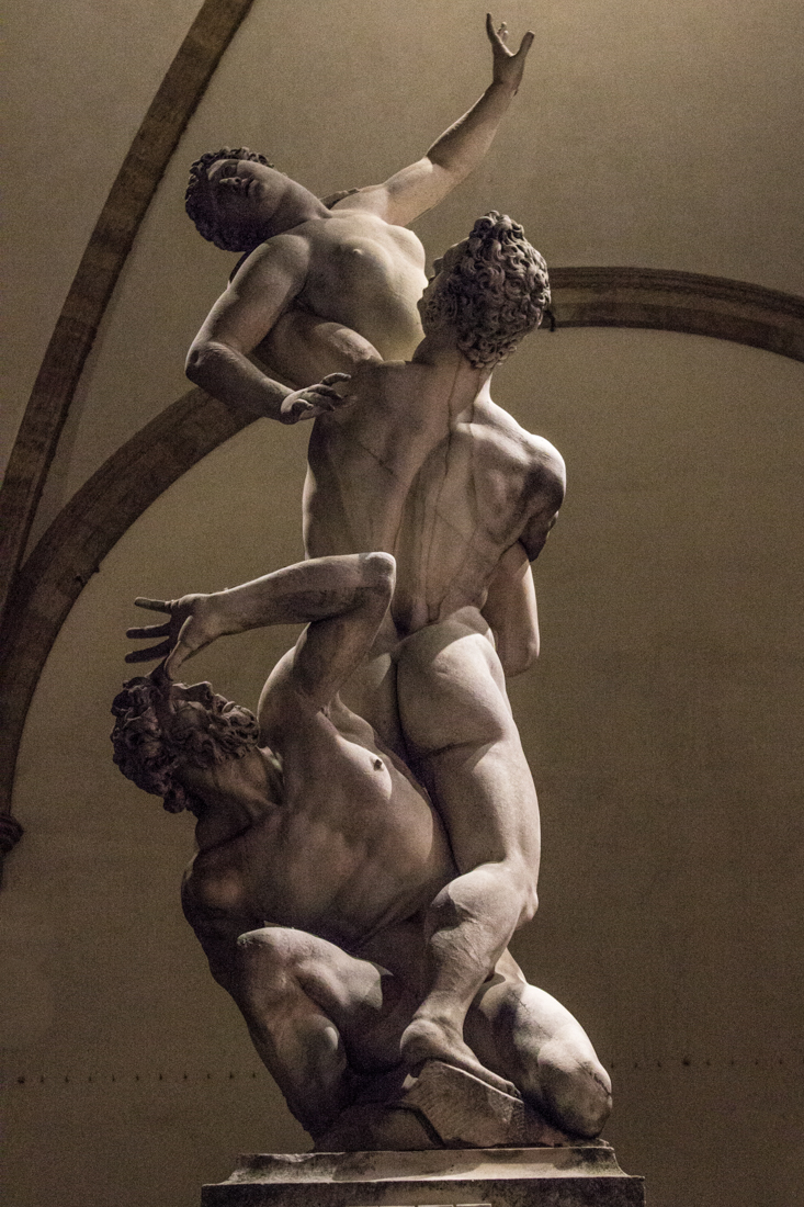 Giambologna's 'Rape of the Sabine Women'