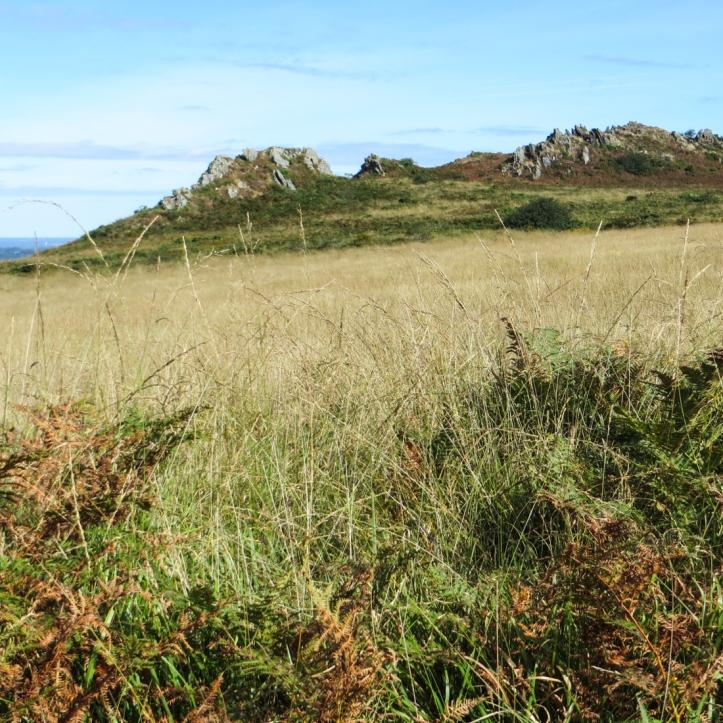 The Monts d'Arree above Le Releq