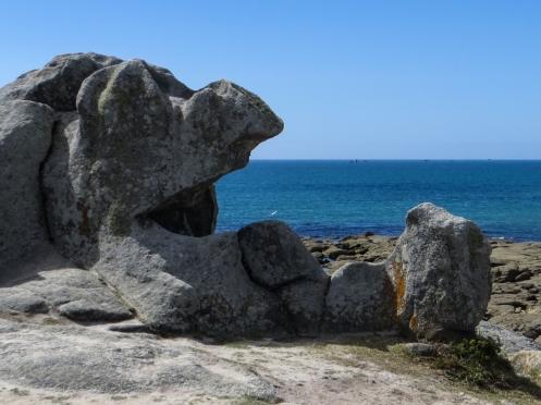 The coast near Plobannalec