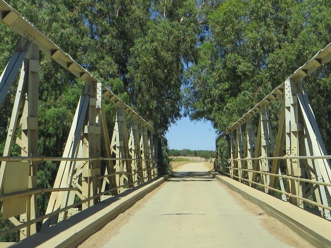 A bridge over the Berg River