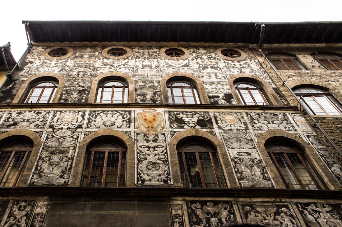 The Palazzo Corsini Suarez in Oltrano